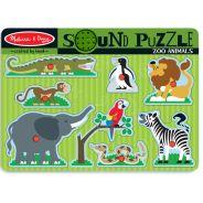 Melissa & Doug - Zoo Sound Puzzle