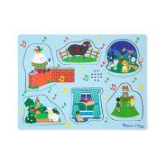 Melissa & Doug -  2 Sound Puzzle Nursery Rhymes