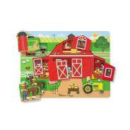 Melissa & Doug - Around The Farm Sound Puzzle