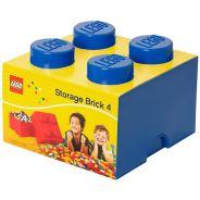 Storage Brick 4 Knob (25cm) - Blue