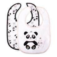 Jersey Bibs Panda 2 Pack