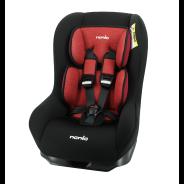 Diver Denimish Car Seat - Red