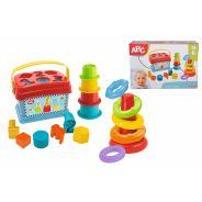 ABC Baby Playset, Stacking Ring Pyramid