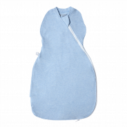 Grobag Easy Swaddle - Blue Marl 0-3M