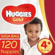Gold Nappies Size 4+ Gigabag 120's