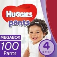 Pants Nappies Size 4 Megabox 100's