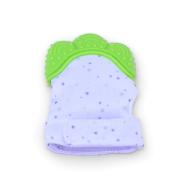Teething Mitten Green