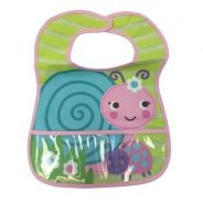 Loveable Friends Stay Dry Bibs - Snail