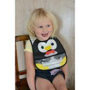Loveable Friends Stay Dry Bibs - Penguin