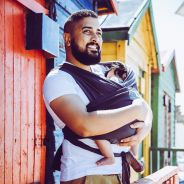 SnuggleRoo Baby Carrier – Charcoal