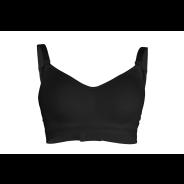 Adjustable drop Cup Bra Black XLarge