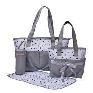 Bounce Diaper Bag 4 Piece Set - Dots