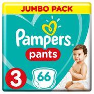 Baby Dry Size 3 Jumbo Pack 66 Pants