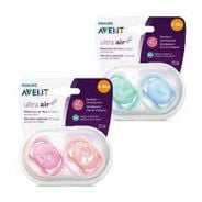 6-18m Soother - Fashion Air Deco 2pack
